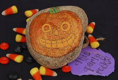 Easy-to-make invitation from A Harvest and Halloween Handbook