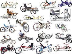 BiCi InSaNa: Recumbent Bikes - Bicis reclinadas