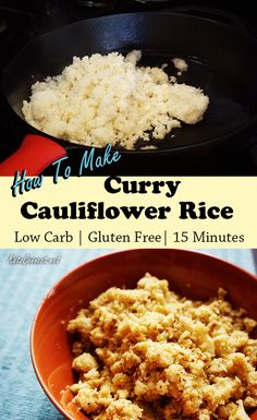 Cauliflower not only makes the perfect substitute, but provides added nutritional value that rice lacks! Pair our curried cauliflower rice with any meal as a flavorful, nutritional low carb side dish.