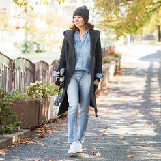 深まる秋の景色に映える、大人のリラックスカジュアル | おしゃれのヒントは、やっぱり街にある SNAP! SNAP! | mi-mollet(ミモレ) | 講談社
