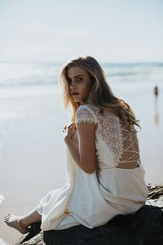 "EDITORIAL HELLO MAY MAGAZINE: WINDSWEPT :: Featuring or Anais Anette ""Savannah"" gown"