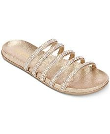 Kenneth Cole Reaction Women's Slim Shimmer Sandals Dress Down Day, Flip Flop Shoes, Shoe Show, Luxury Gifts, Mens Gift Sets, Baby Clothes Shops, Mother Day Gifts, Slim, Gold