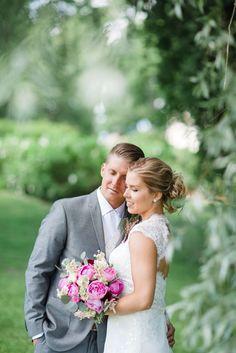 Wedding Photography Ideas : Wedding couple in Arboretum Tampere Finland  I  Wedding photographer Petra Vei