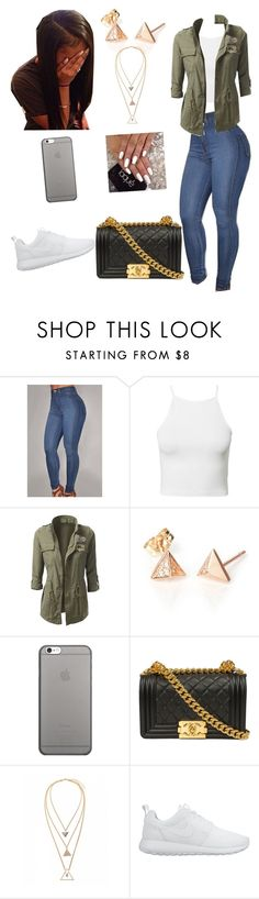"""Untitled #447"" by honeycombs23 ❤ liked on Polyvore featuring NLY Trend, Native Union and NIKE"