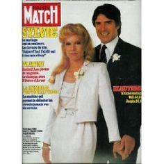 Paris Match - - - Mariage de Sylvie Vartan et de Tony Scotti Michel Platini, Michel Rocard, J'ai Dit Oui, Vartan Sylvie, Paris Match, Vintage Magazines, Idole, 1984, David