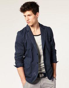 Men Fashion with Zara Blazers