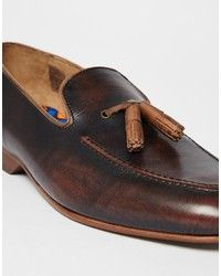 House Of Hounds Leather Tassel Loafer