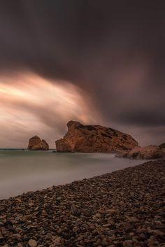 Aphrodite's Rock, Petra Tou Romiou, Cyprus Aphrodite, Cyprus, Petra, Cinematography, Natural Light, Monument Valley, Relax, Adventure, Rock