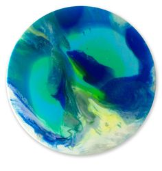 Under the Sea by Julia Godfree. Visit www.visualemporium.com.au to see more of Julia's art. #art #artist #resin #water #mystery #ocean #blues #creative #expression