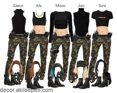 Discover recipes, home ideas, style inspiration and other ideas to try. Army Halloween Costumes, Army Costume, Halloween Kostüm, Halloween Outfits, Girl Costumes, Swat Costume, Camo Pants Outfit, Leder Outfits, Maquillage Halloween