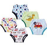 Dimore Baby Toddler 5 Pack Cotton Waterproof Training Pants Boy (S, Boy) - Dimore cute boy brief underwear 5 Pack Cotton Waterproof Training Pants made of and New brand with high quality design,Durable, washable and reusable for multiple uses. Cloth Training Pants, Toddler Training Pants, Potty Training Pants, Happy Baby, Happy Kids, Toddler Underwear, Baby Diaper Rash, Baby Potty, Baby Wraps