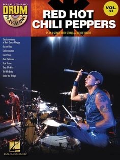 Hal Leonard Drum Play Along Volume 31: Red Hot Chili Peppers - Book & CD. £12.95