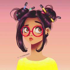 art, artist, colorful, creative, cute, drawings, fashion, hair, illustration, nerd, pencil, popular, sketch