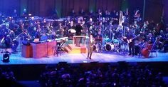Nas x The National Symphony Orchestra at the One Mic Hip-Hop Festival.  The Kennedy Center for Performing Arts.