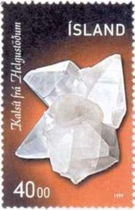 Sello: Minerals (Islandia) (Minerals) Mi:IS 917,Sn:IS 885,Yt:IS 870,AFA:IS 902