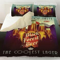 Black Forest Beer Duvet Cover