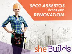 Here's a list of the top ten locations where women renovators are most likely to find Asbestos during their home renovations and what to do if exposed to it. Top Ten, Safety, Community, Tops, Women, Security Guard, Women's, Shell Tops, Communion