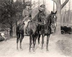 British Soldiers on Horseback