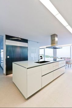 Altea Hills, Alicante, Kitchen Island, Villa, Home Decor, Kitchens, Central Heating, Floor Heater, Big Windows