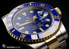 Rolex Submariner Date Ref - 116613LB. Steel and Gold with Ceraminc Bezel. Dated May 2012. We Buy and Sell Rolex Submariner Watches. Contact Us - www.watches.co.uk