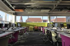 We supplied the University of Law with this custom furniture design scheme in…