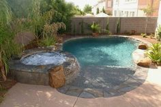 Small Swimming Pools, Small Pools, Swimming Pools Backyard, Swimming Pool Designs, Lap Pools, Indoor Pools, Pool Decks, Small Yards With Pools, Small Pool Ideas