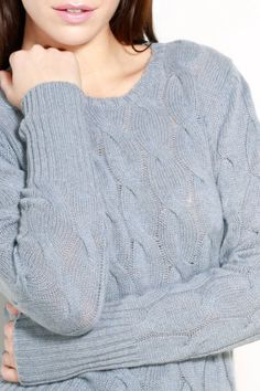 Treat yourself to a piece from our luxurious range of women's cashmere knitwear. Jumpers For Women, Sweaters For Women, Cashmere Jumper, Cable Sweater, Love S, Knitwear, Lady, Shopping, Collection