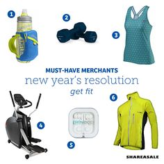 It won't be long before resolutions are more important than those delicious holiday cookies. Check out this list of fitness Merchants and start setting goals for 2016! ‪#‎bloggertips‬ ‪#‎contentmarketing #musthavemerchants