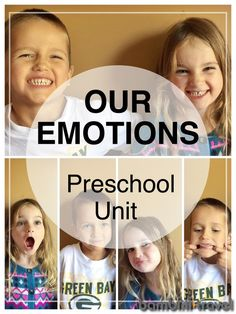 Emotions Unit | Books, Activities and more for discussing emotions with preschoolers | Bambini Travel