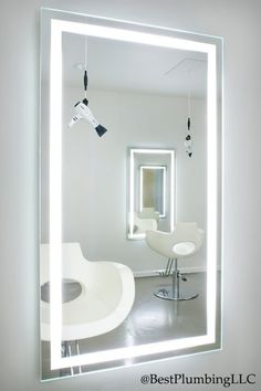 Electric Mirror Available Best Plumbing Seattle WA 633