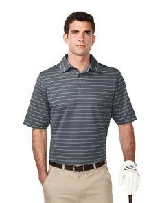 Mens Textured Yarn Dyed Stripe Polo  Style#: Tri mountain K123  #sport #YarnDyed   #Stripe