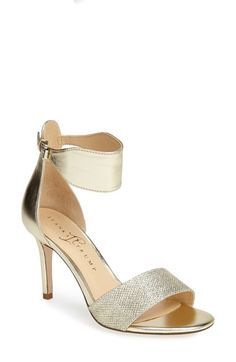 Free shipping and returns on Ivanka Trump 'Gelana' Sandal at Nordstrom.com. A mid-heel sandal boasts a sculptural ankle cuff for a modern yet versatile vibe.