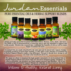 Pure Essential Oils & Herbal Support Blends