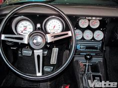 Corvette Gauge Cluster - How To Update Aging Instrumentation - Vette Magazine Chevrolet Corvette, Chevy, Corvette History, 1969 Corvette, Car Gauges, Classic Corvette, Car Memes, Hot Cars, Dream Cars