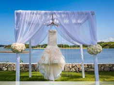 Wedding Gazebo Archway White Flowers