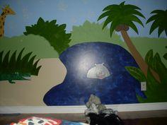 Peinture acrylique mural