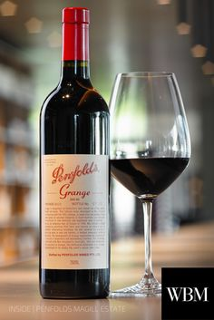 one of the best wines in the country, Penfolds Grange.