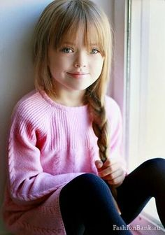 Kristina Pimenova is tagged to be the most beautiful girl in the world. For more fashion for girls photos, look her up. Beautiful Little Girls, The Most Beautiful Girl, Cute Little Girls, Beautiful Children, Cute Kids, Little Girl Bangs, Little Girl Models, Child Models, Girl Haircuts