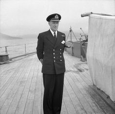 """John Catterall """"Jack"""" Leach DSO, Captain RN. Only captain of Battleship HMS Prince of Wales during that vessel's short, eventful life (commissioned in January of 1941).  Fought the Bismarck, took the Prime Minister to meet Roosevelt, then sunk off Singapore. Captain Leach and many of his crew died with their ship on 10 December 1941. Royal Navy Officer, Royal Marines, Naval History, Military History, Second World, First World, Hms Prince Of Wales, Falklands War"""