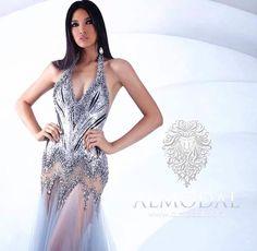 Leo Almodal HAUTE COUTURE - Model by Anindya Kusuma Miss Indonesia Universe 2015