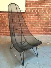 RARE SOL BLOOK SCOOP LOUNGE CHAIR FOR NEW DIMENSIONS MID CENTURY EAMES