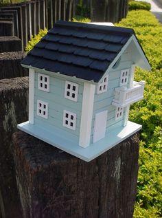 casinha de passarinho para jardim 8