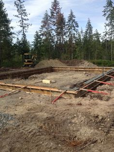 Building Foundation, House Foundation, Construction Process, New Construction, Concrete Cost, Brick Oven Outdoor, Sandpoint Idaho, Insulated Concrete Forms, Diy Concrete Countertops