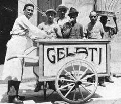 Sassari: Il gelataio ~ The Gelato Vendor~ Italian News, Italian Ice, Italian Style, San Gennaro, Gelato Shop, Ice Cream Cart, Vintage Ice Cream, Vintage Italy, Ice Queen