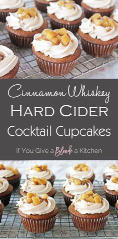 Cocktail Cupcakes: Fall Edition