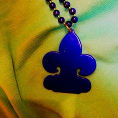 Fleur de lis Beads!