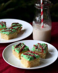 Holiday Sugar Cookie Bars low carb sugar-free grain-free @dreamaboutfood: