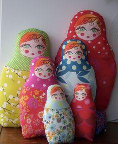 Кукла Матрешка Подушки