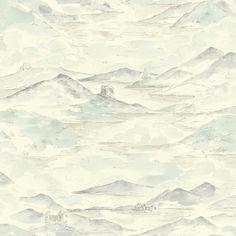 Arthouse Lochs & Lagoons Collection Highland Cream/Blue 256401