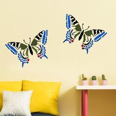 $12.95  - Papilio Butterfly Stencil  Size SMALL  Stencils for DIY Home Decor  By Cutting Edge Stencils *** To view further for this item, visit the image link. (This is an affiliate link) #WallStickersMurals